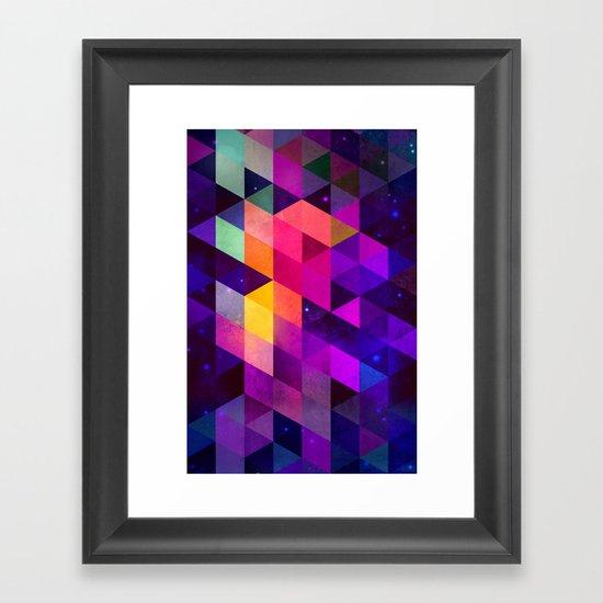 vyolyt Framed Art Print