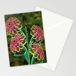 Flowers Blossom Artwork Stationery Cards