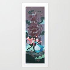 Return of the Heart Art Print