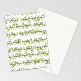 Manx flora - gorse Stationery Cards