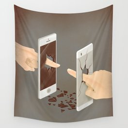The Real Touch Wall Tapestry