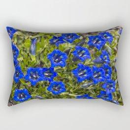 nice gentian - nice bloom Rectangular Pillow