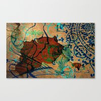 oriental Canvas Prints featuring Oriental by LoRo  Art & Pictures