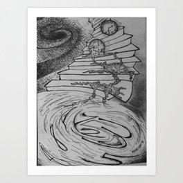 Molten Hour Art Print
