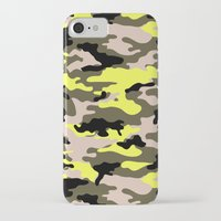 camouflage iPhone & iPod Cases featuring camouflage by RIZA PEKER