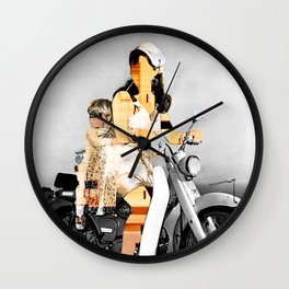 CardinalsRoller Collage Wall Clock