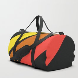 3 Retro Stripes #3 Duffle Bag