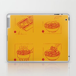 noodles recipe Laptop & iPad Skin