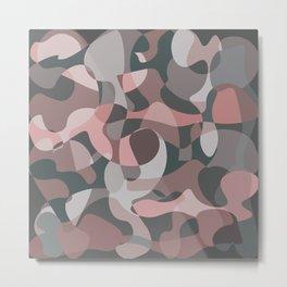 Camouflage XXXVIII Metal Print
