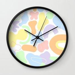 Danish Pastel Wall Clock