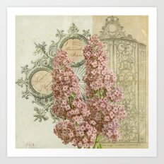 Mademoiselle Art Print