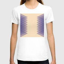 Blue Triangles T-shirt