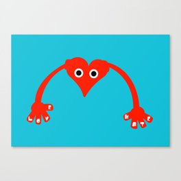 Love & Hate Canvas Print
