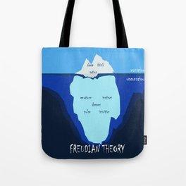 Freudian theory Tote Bag