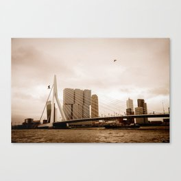 The Erasmus Bridge Canvas Print