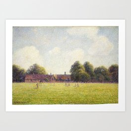 Camille Pissarro Hampton Court Green Art Print