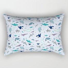 Ocean Animals Rectangular Pillow
