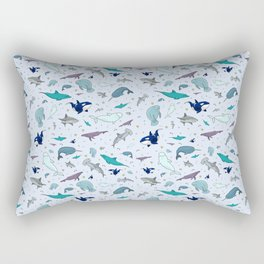 Ocean Animals Rectangular Pillow