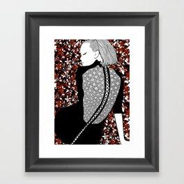 La femme 16 Framed Art Print