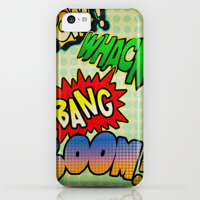 Comic Sounds iPhone Case