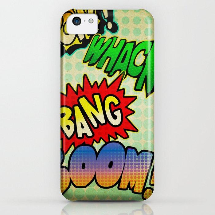 Comic Sounds iPhone Case