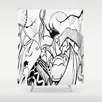 safari Shower Curtains featuring Safari by Nozza