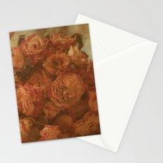 Old Orange Roses Stationery Cards