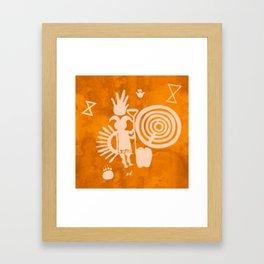 Petroglyphs 2 Framed Art Print