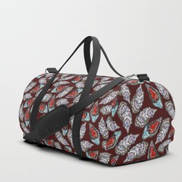 Swedish Waters: Oyster Red Duffle Bag