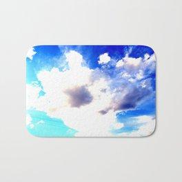 Blue Skies Will Never Fade Bath Mat