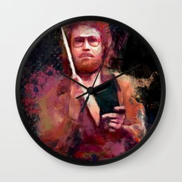 The Only Prescription Is More Cow Bell - Will Ferrell Wall Clock