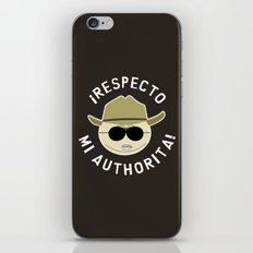 Respecto Mi Authorita! iPhone & iPod Skin
