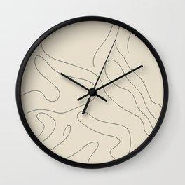 Drape II Wall Clock