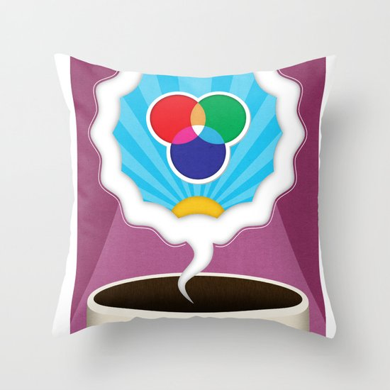 Dreamigners | Color Throw Pillow