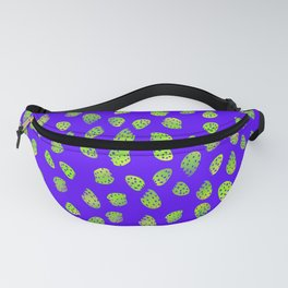 Green Strawberries Fanny Pack