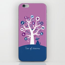 Tree of dreams iPhone Skin