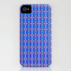 Blue Tile Slim Case iPhone (4, 4s)
