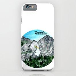 Yosemite National Park Watercolor iPhone Case
