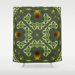 Citrus Infusion  Shower Curtain