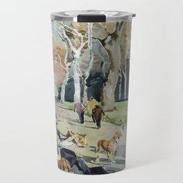 Paseo del Prado Travel Mug