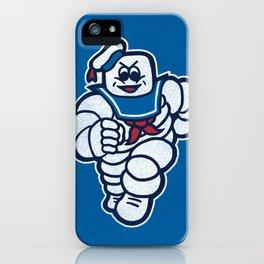 Marshmelin Man iPhone Case