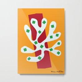 Matisse - Le Fleur Découpée - Cut Out Artwork Metal Print