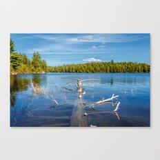 Smoke Lake Canvas Print