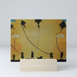 Papalotes (kites) Mini Art Print
