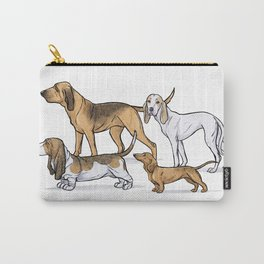 Nosy Scenthounds Carry-All Pouch