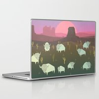 bison Laptop & iPad Skins featuring Bison by N1MH