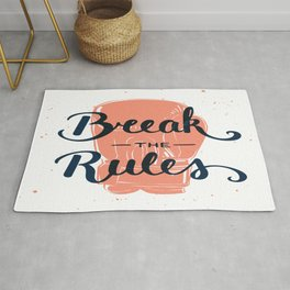 Break The Rules Rug