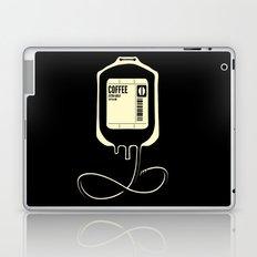 Coffee Transfusion - Black Laptop & iPad Skin