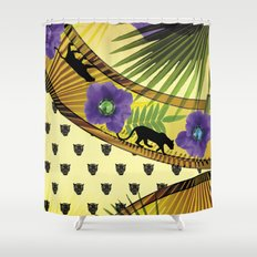 givenchy fashion fantasy Shower Curtain