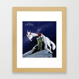 Princess Fen'harel Framed Art Print